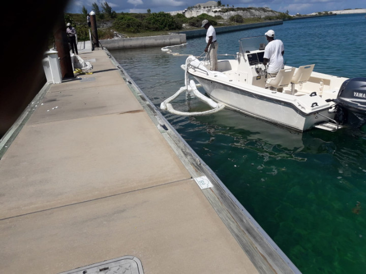 3,600 Gallons of Diesel Fuel Spilled into Exuma Harbor- Exuma Online