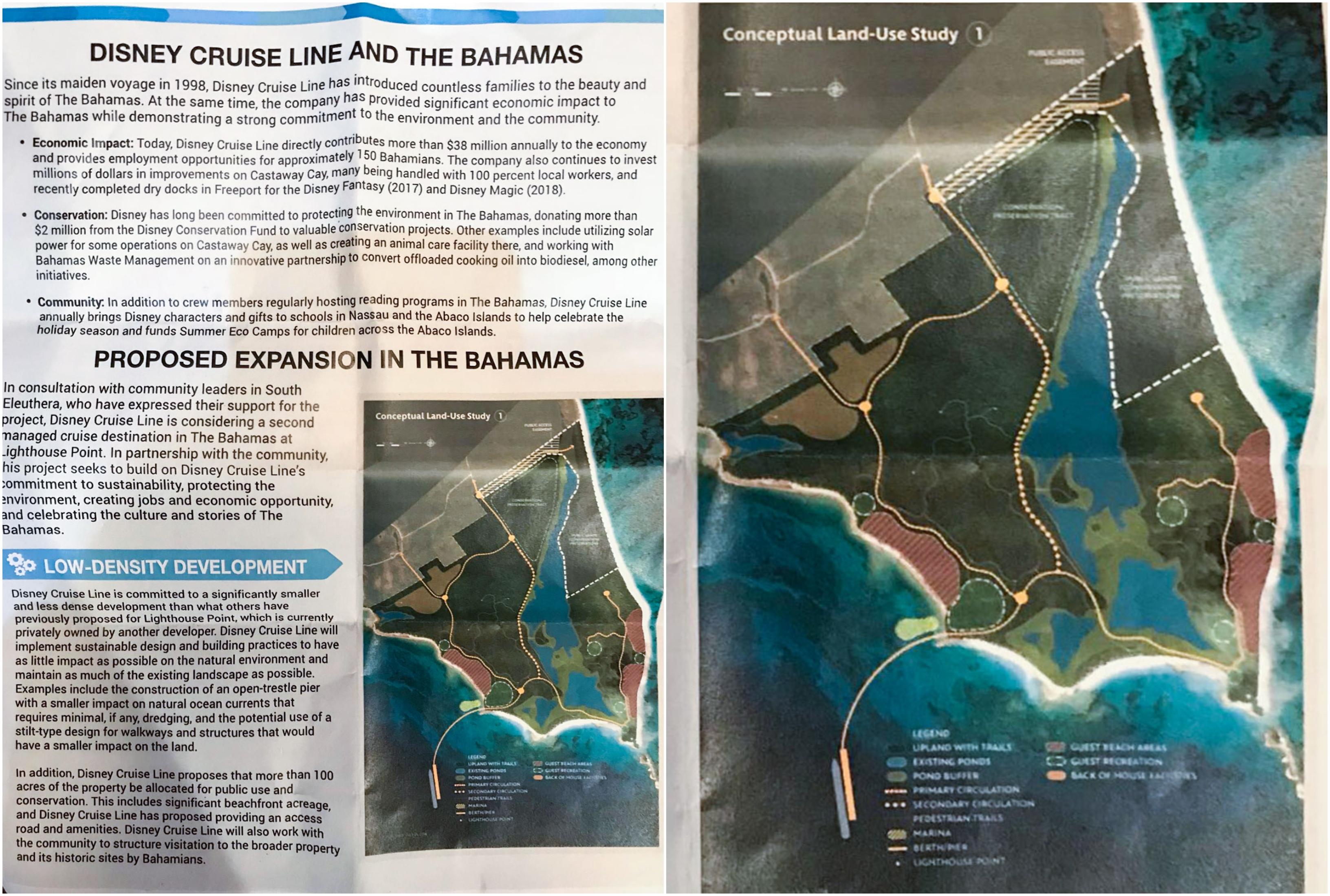 A New Disney Cruise Port Might be Coming to Eleuthera- Exuma